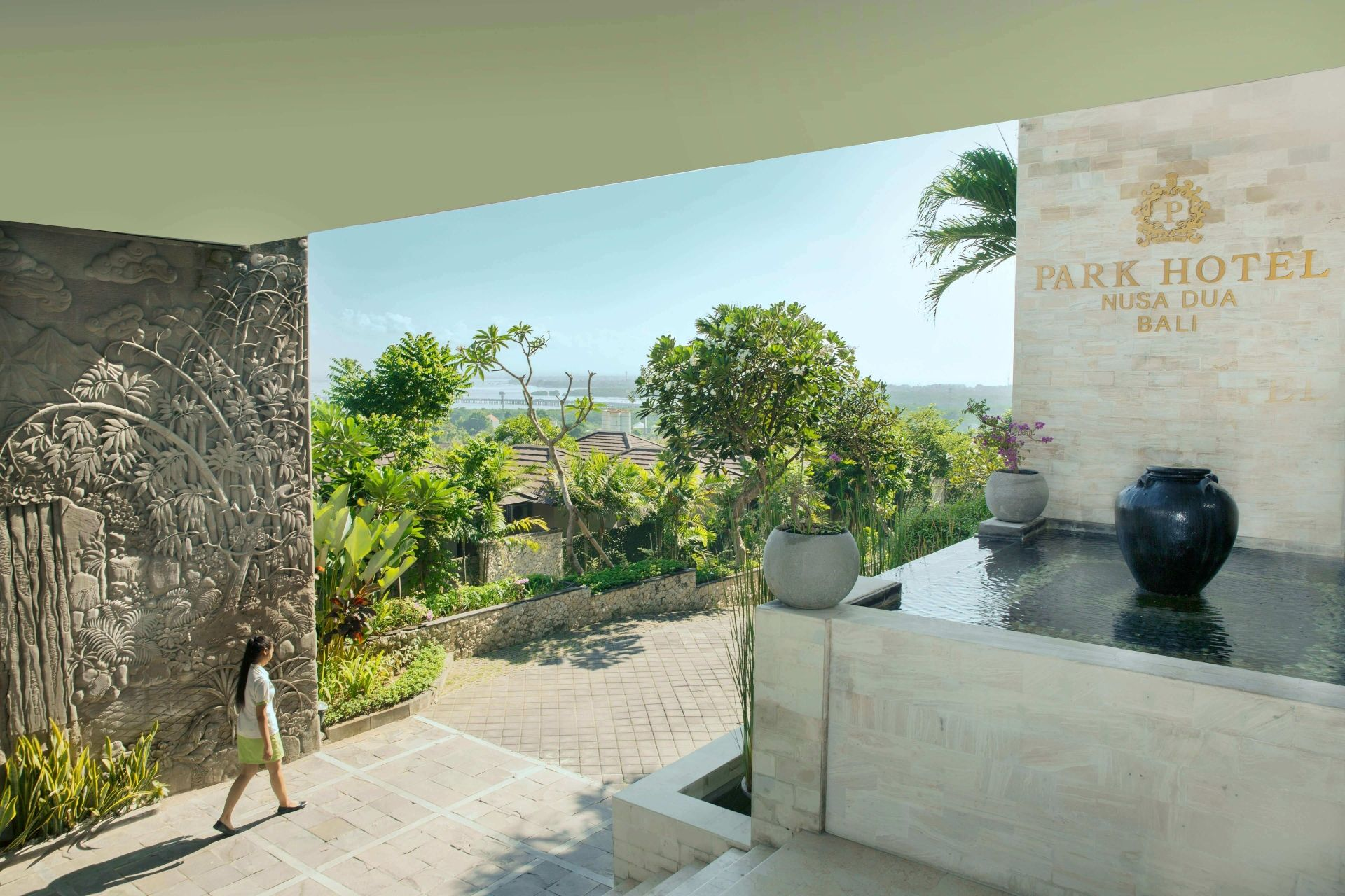 Main Entrance of Park Hotel Nusa Dua Bali