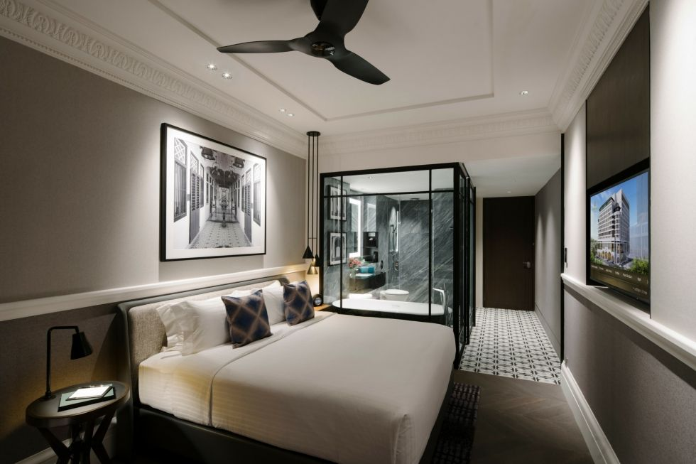 Brand new hotel rooms at Grand Park City Hall Singapore