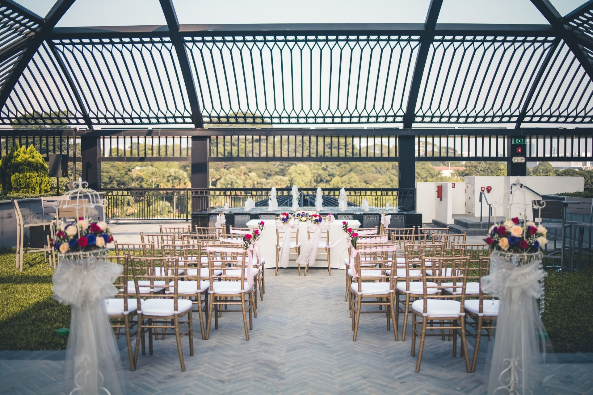 Events at Rooftop Sky Garden - Weddings