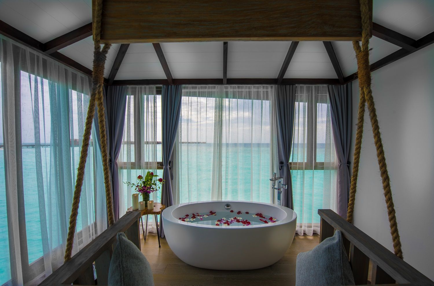 Relaxation amidst exotic beauty of the Maldives