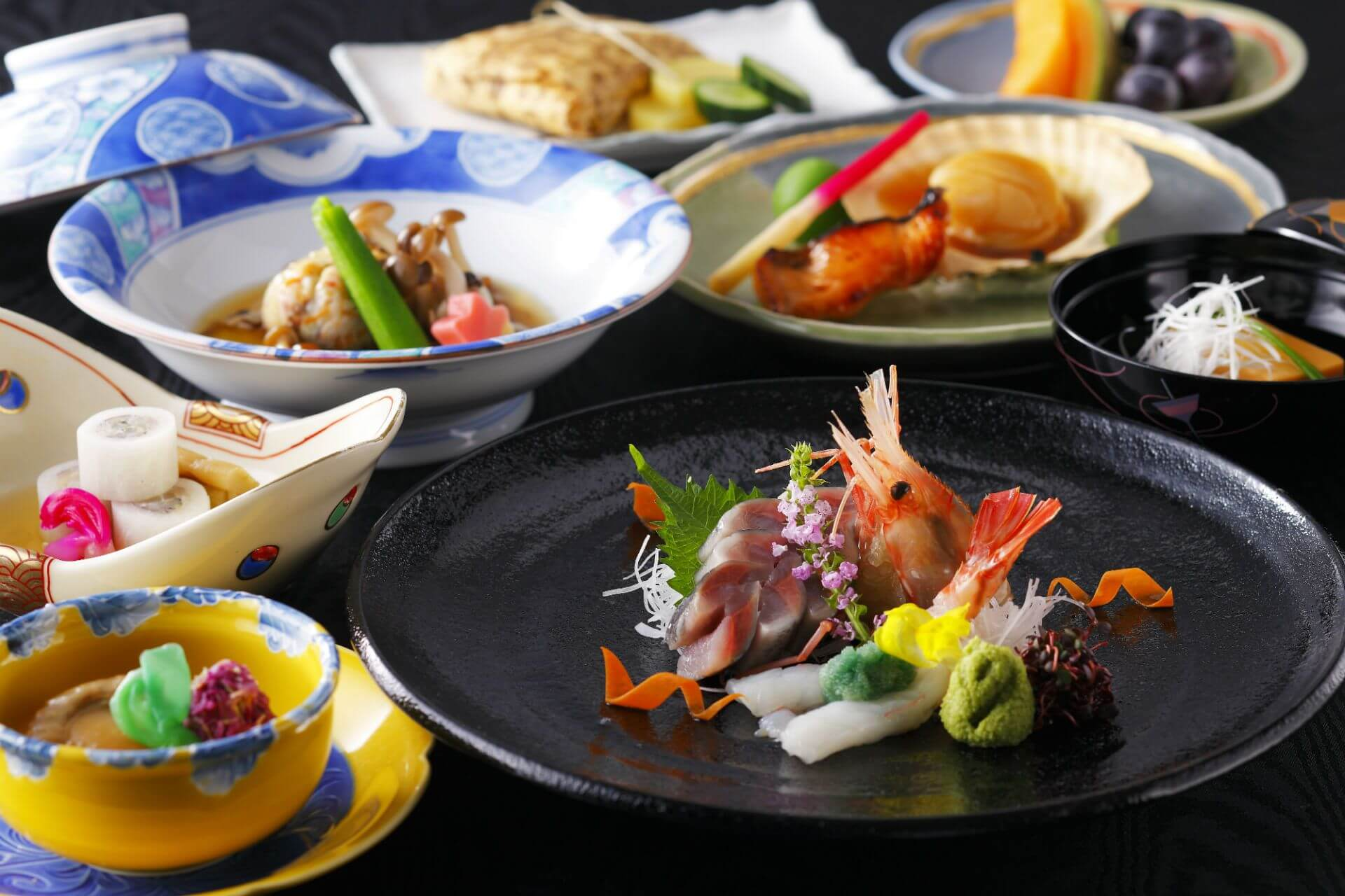 Fresh Seafood Cuisines at Cocoro Restaurant at Grand Park Otaru