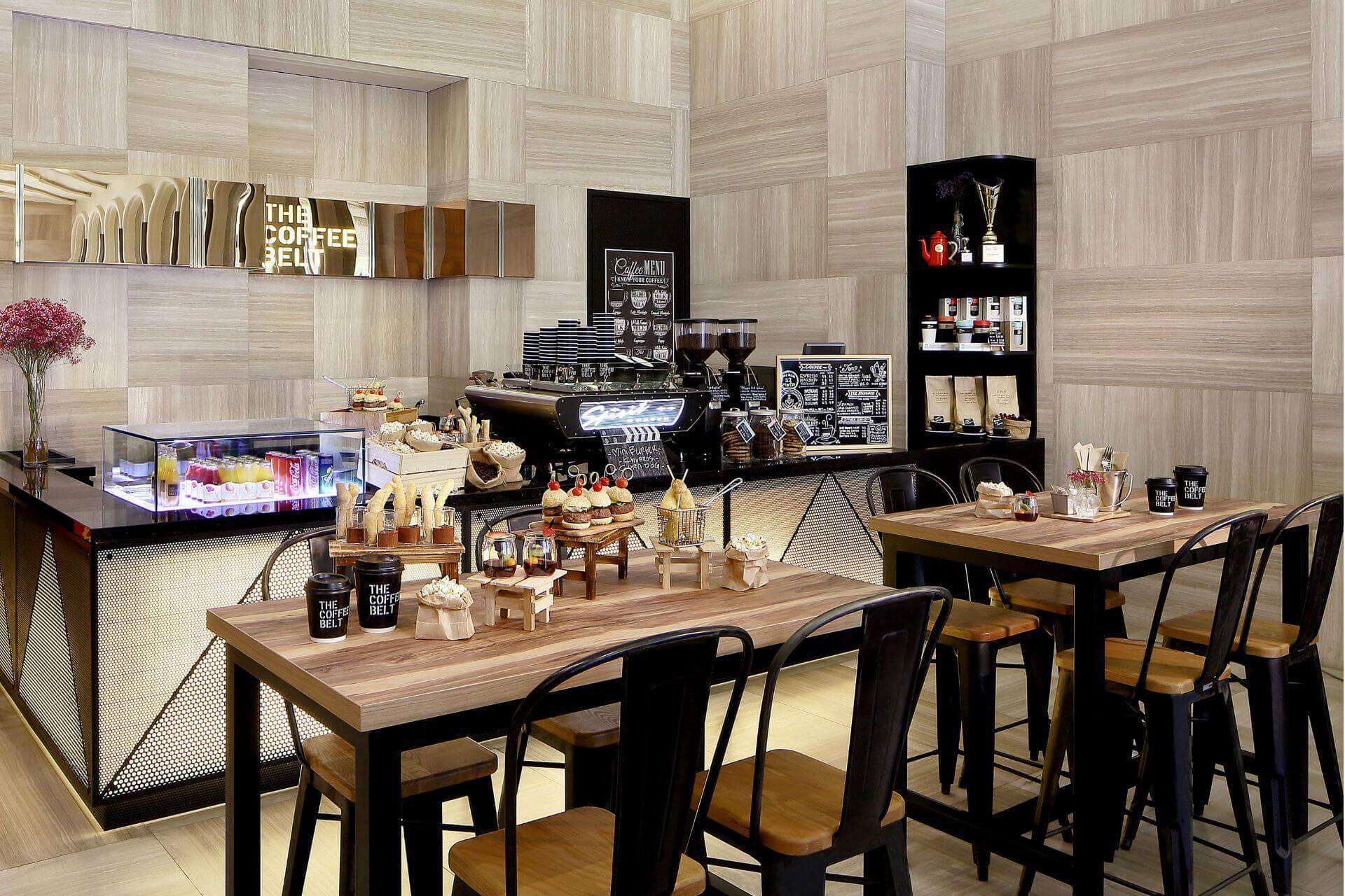 Themed coffee break by Park Hotel Alexandra Singapore