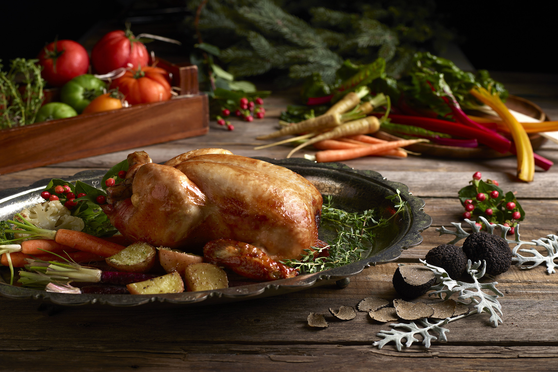 Festive Takeaway from The Carvery -  Roast Chicken with Truffle