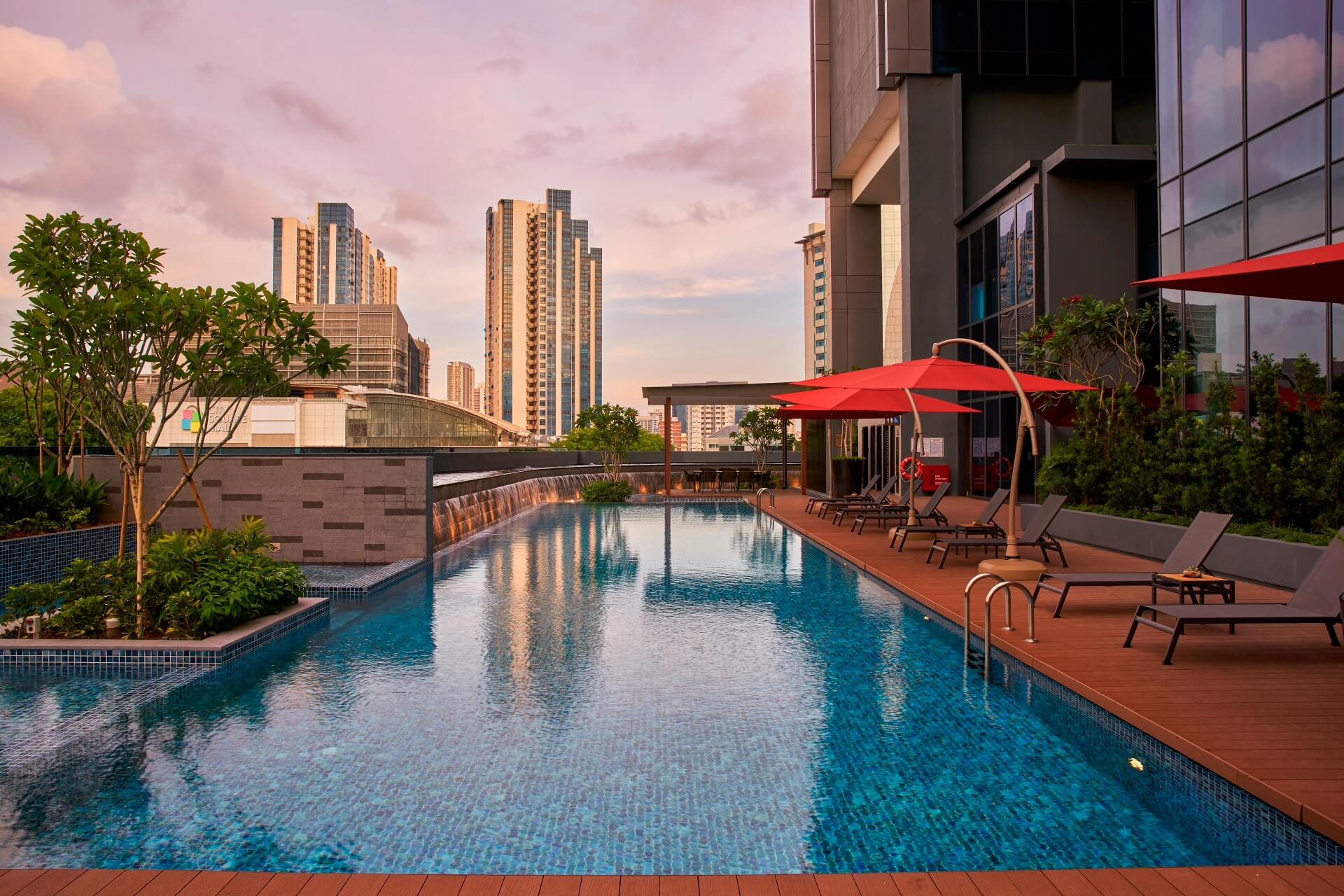 Park Hotel Farrer Park Singapore, located in Little India directly above MRT Station
