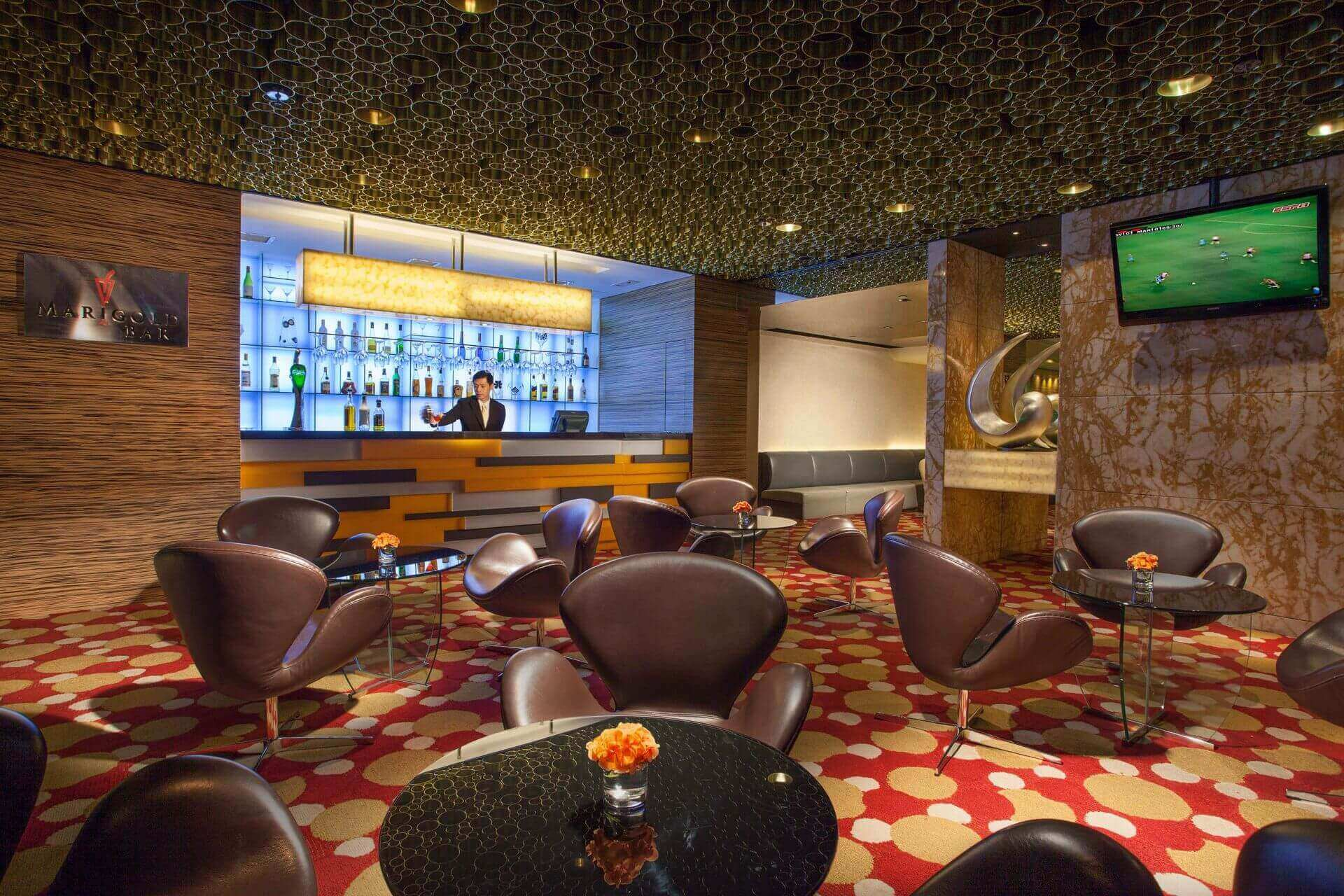 Marigold Bar at Park Hotel Hong Kong