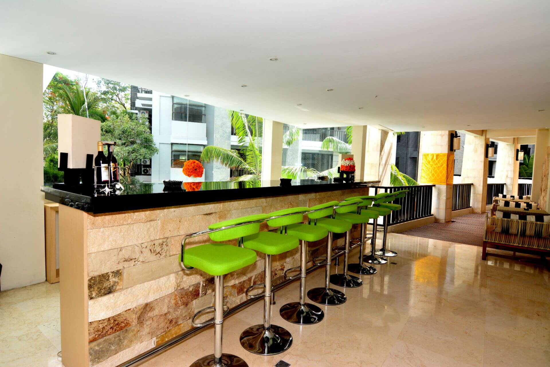 Seat Arrangements at Lobby bar Park Hotel Nusa Dua Bali